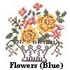 Cross Stitched Flowers